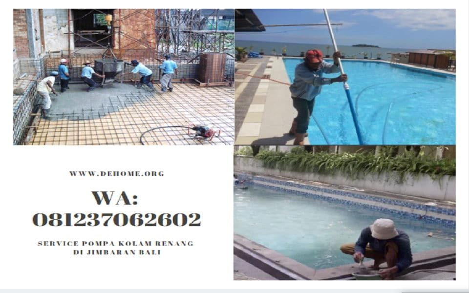 Service Pompa Kolam Renang di Jimbaran Bali WA 081237062602