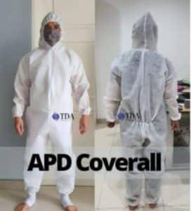 Jual baju APD hamzat