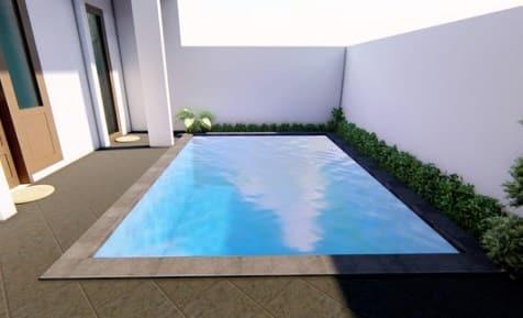 Contoh kolam renang di Bali