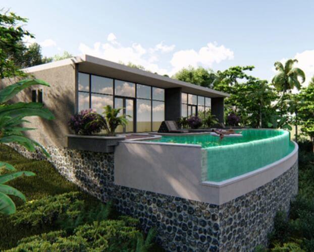 Jasa Desain Kolam Renang Denpasar Bali